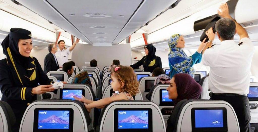 مهمانداران هواپیمایی هما