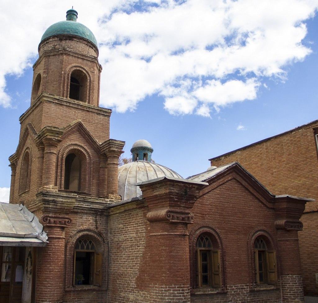 کانتور، کوچکترین کلیسای ارتودوکس ها | Russian Church, Qazvin
