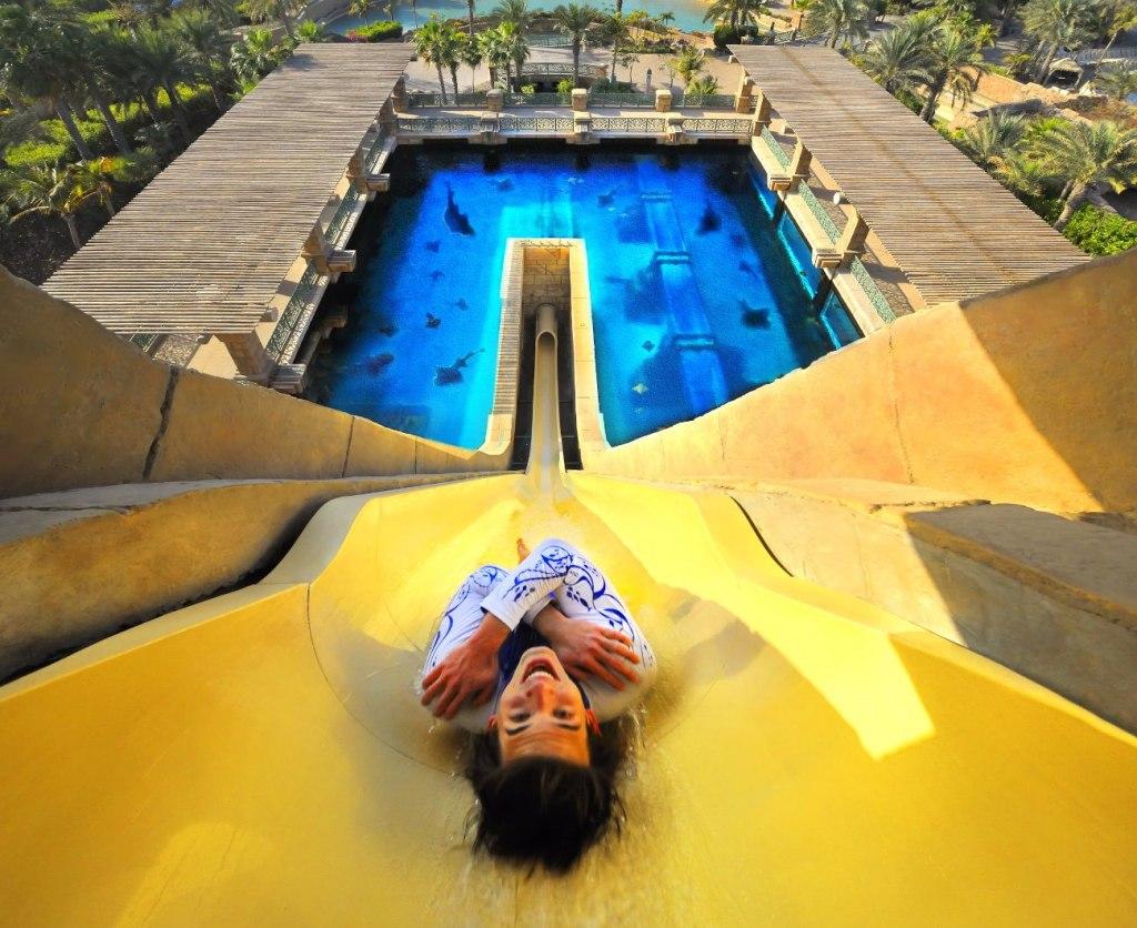 لذتی وصف نشدنی را در پارک های آبی دبی تجربه کنید!