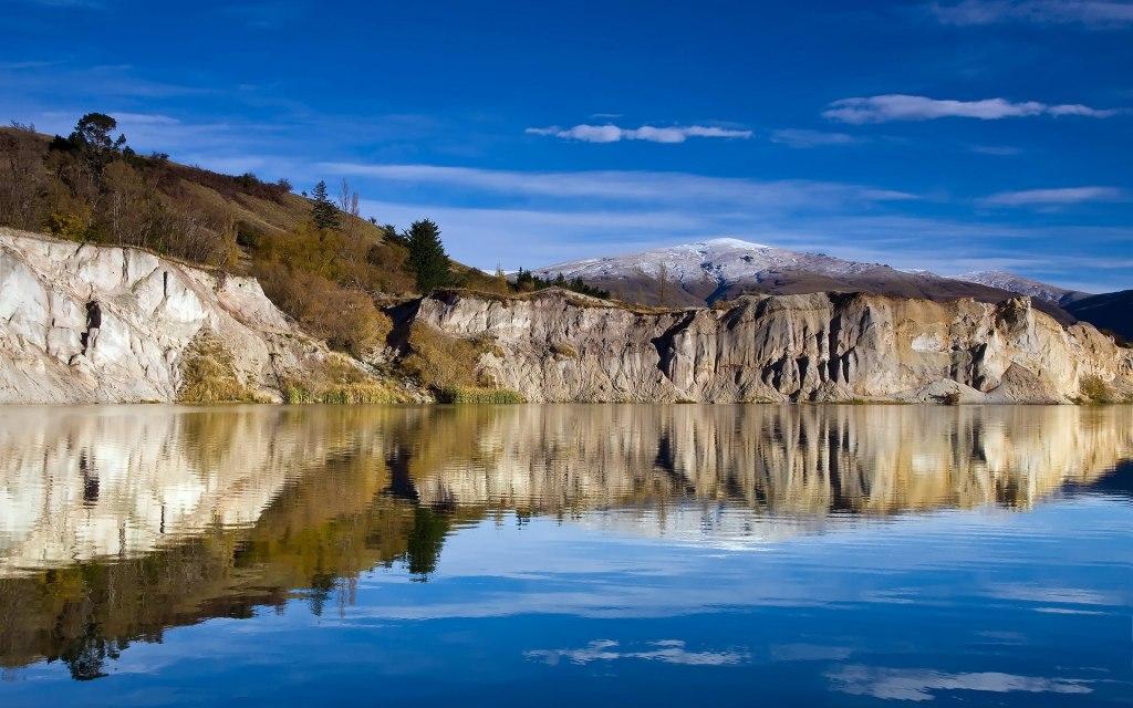 دریاچه آبی نیوزلند کجاست؟