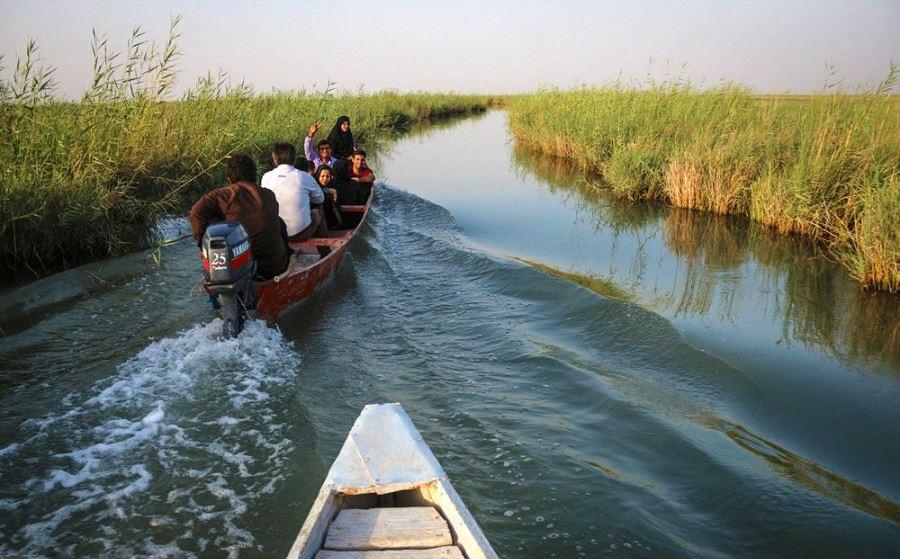 قایق سواری در شادگان