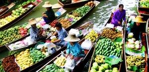 بازار شناور پاتایا