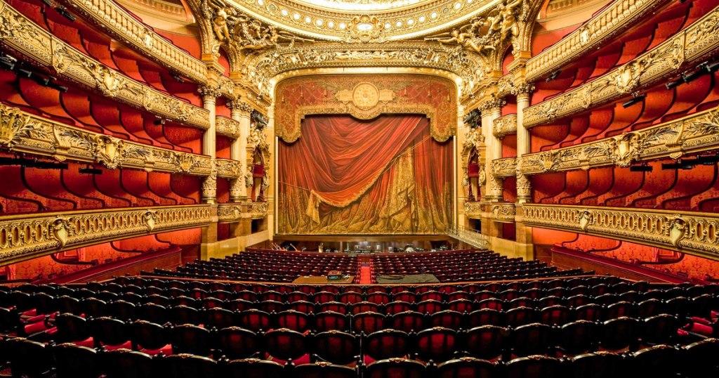 کاخ گارنیه (اپرای ملی پاریس) | Palais Garnier