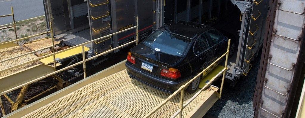 حمل خودرو با قطار به چه صورت است؟