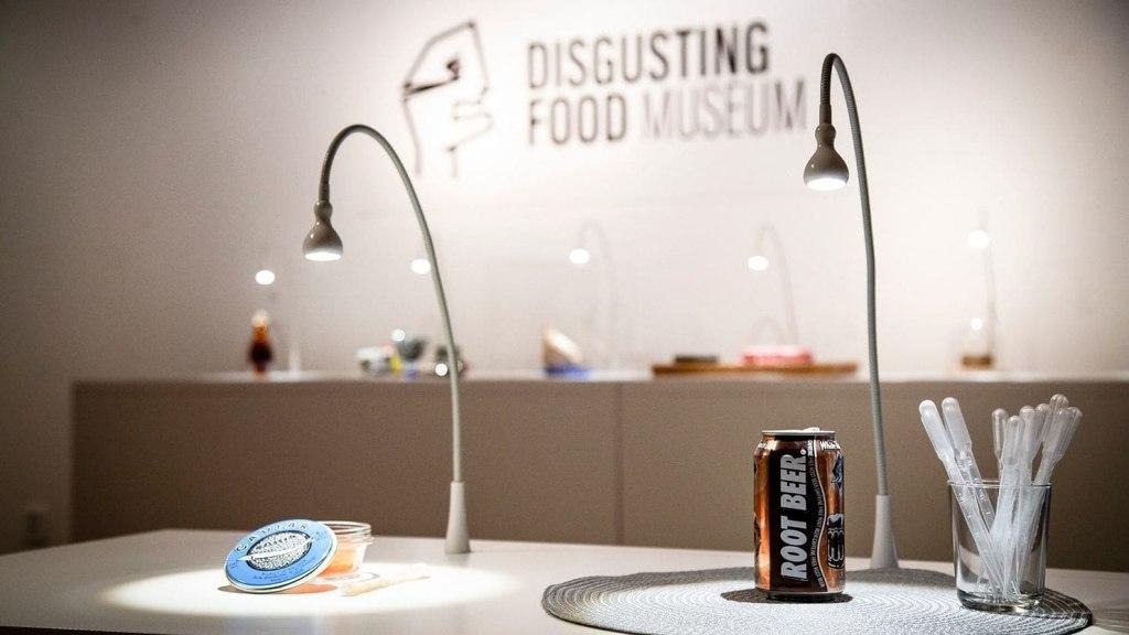 موزه غذاهای چندش آور