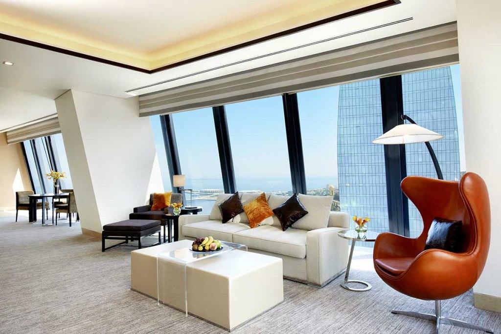 هتل فیرمونت باکو فلیم تاورز | Fairmont Baku, Flame Towers