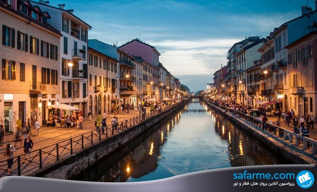 خرید در خیابان نویگلی میلان | Navigli