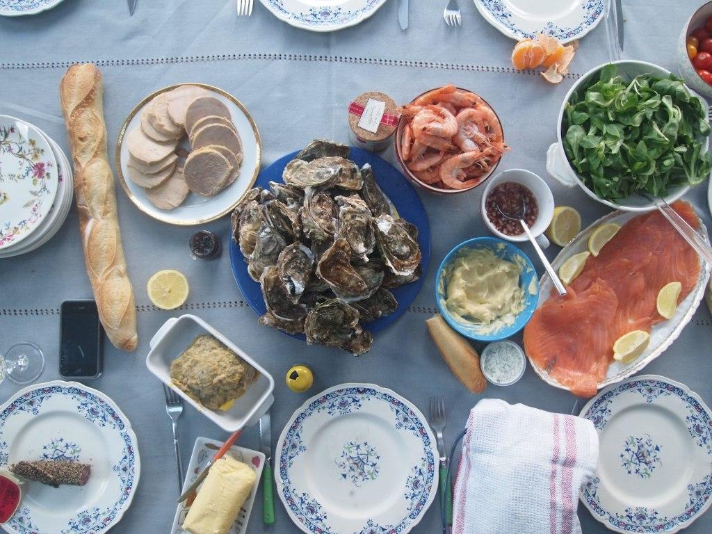 غذای کریسمس در فرانسه