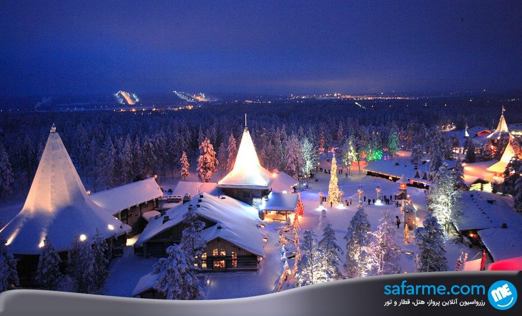 شهر لاپلند در فنلاند | Lapland Finland