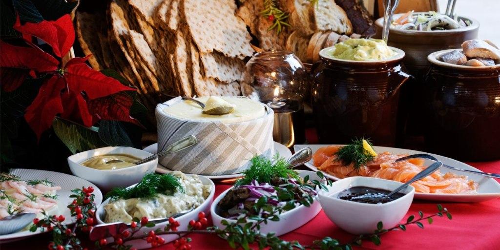 غذاهای کریسمس در سوئد