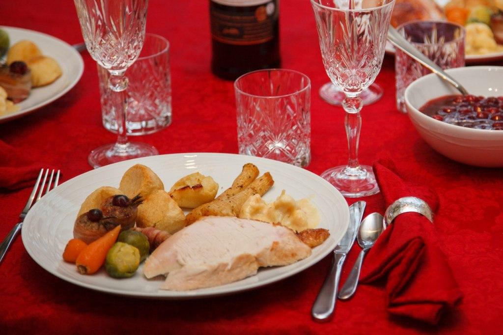 غذاهای کریسمس در روسیه