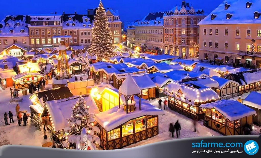 کریسمس در استراسبورگ فرانسه | Strasbourg