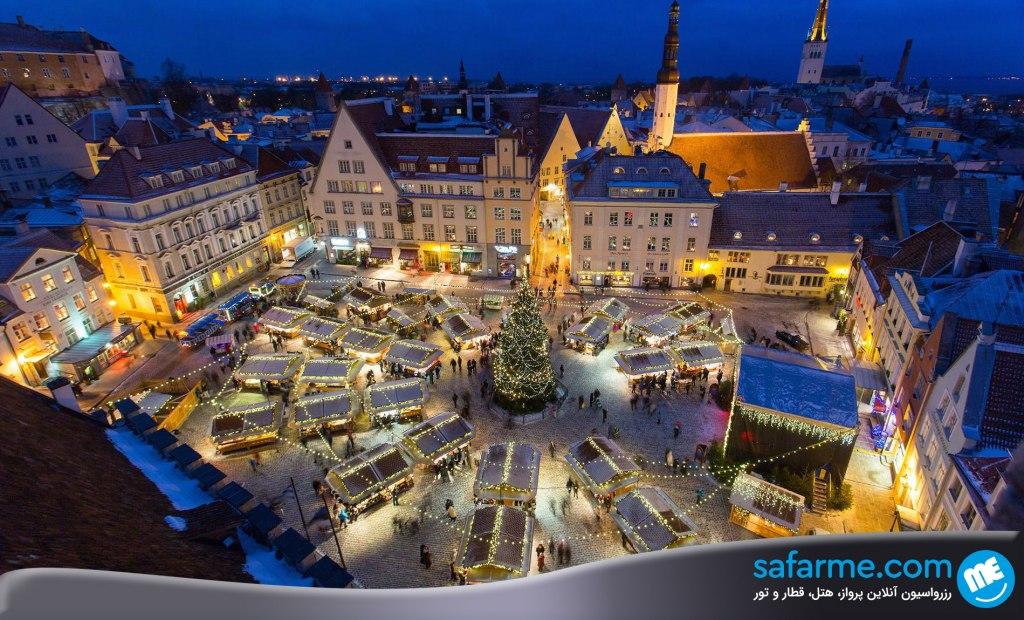شهر تالین در استونی | Tallinn Estonia