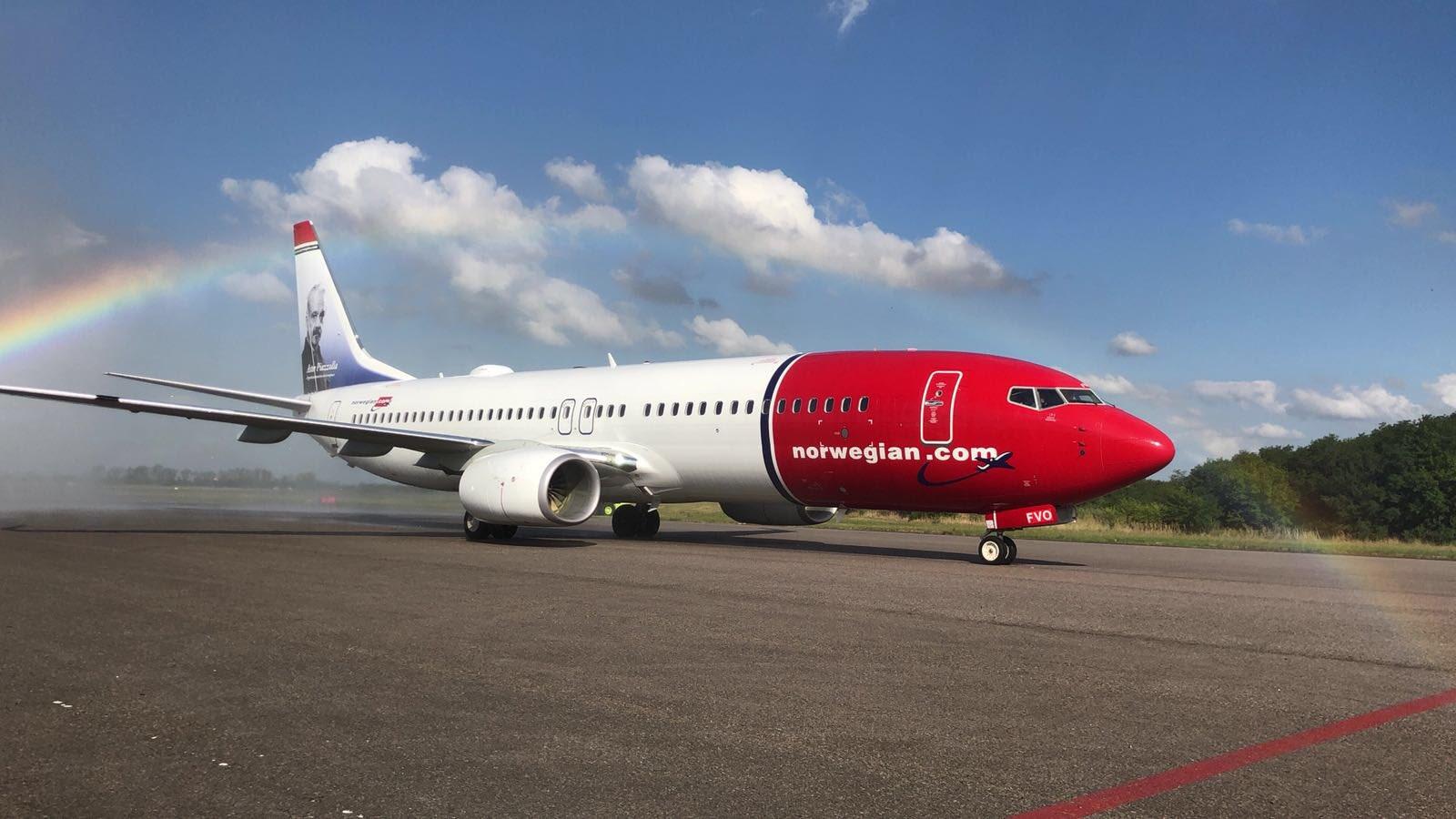هواپیمای نروژی در ایران