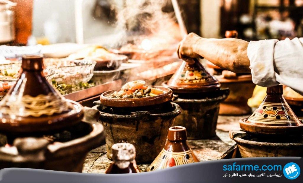 خوراک تاجینه در مراکش | Tajine