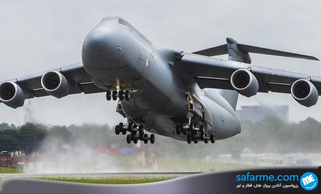 هواپیماهای باربری غول پیکر را بشناسید!