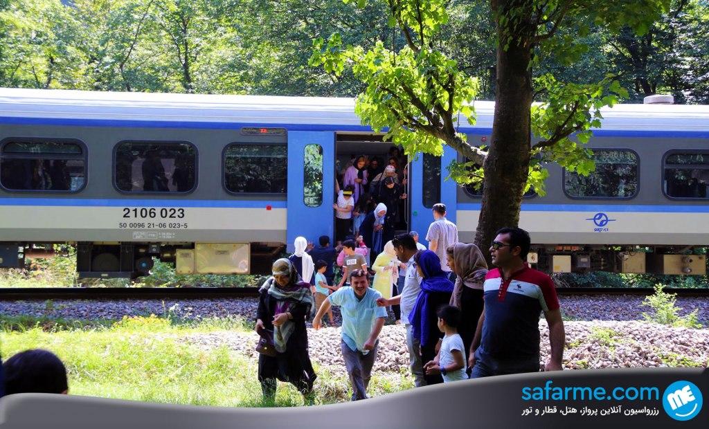 قطار گردشگری رجا؛ سفر به دل طبیعت شمال