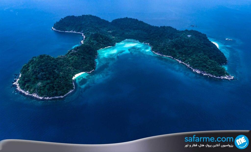 ماجراجویی در دل جزیره تیامون پهانگ