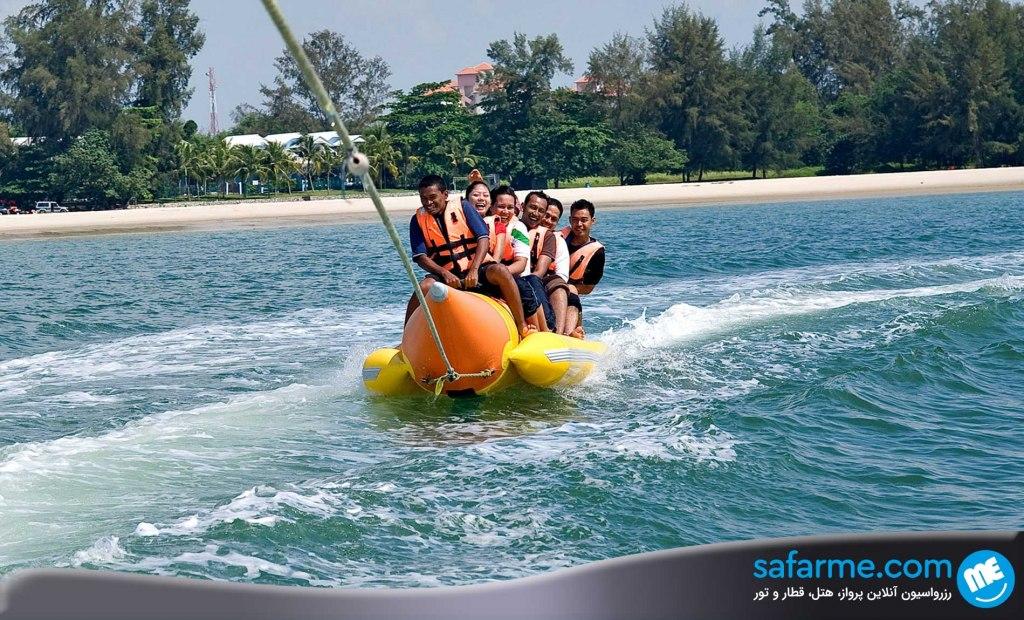 بندر دیکسون مالزی اقامتگاهی بر روی آب!