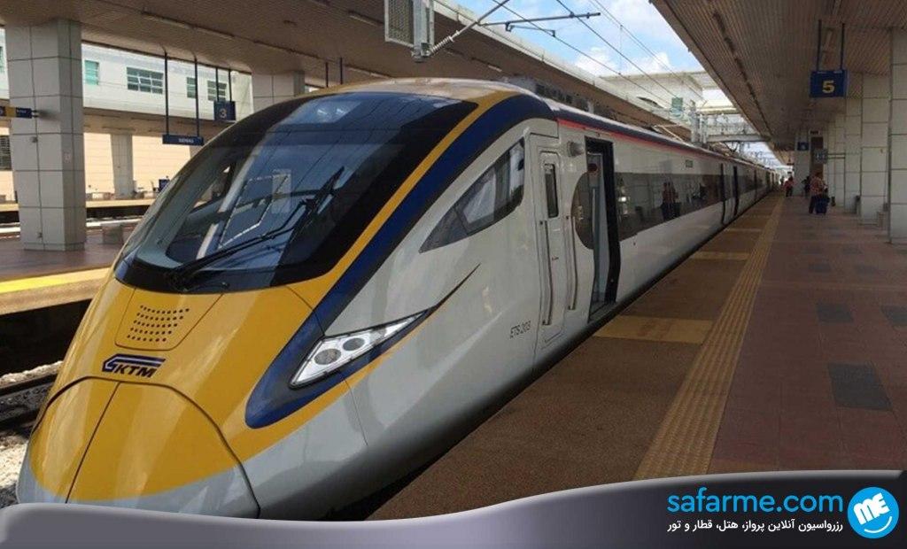 سفر با قطار به پنانگ