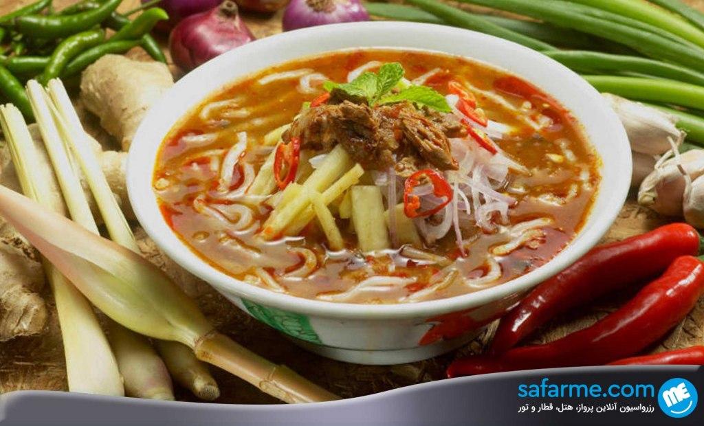 خورد و خوراک در پنانگ مالزی