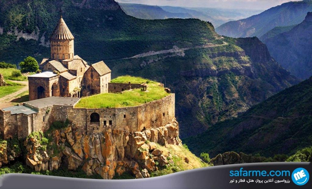 سفر به ارمنستان بدون ویزا