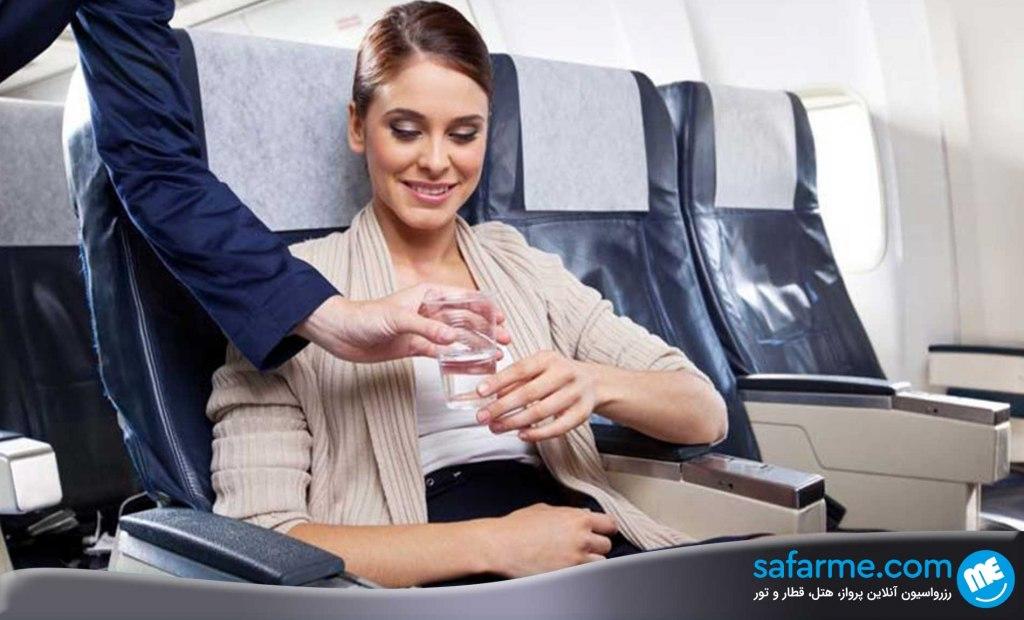 آب شرب داخل هواپیما