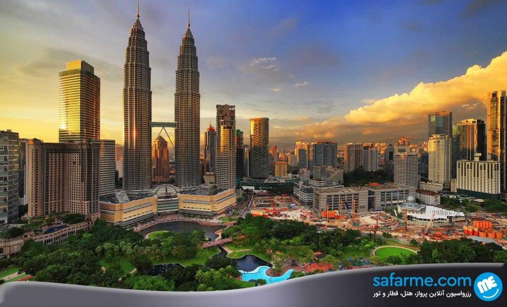 سفر به مالزی بدون ویزا