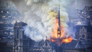 آتش سوزی نوتردام