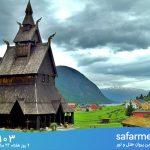 زیباترین و عجیب ترین کلیساهای چوبی جهان