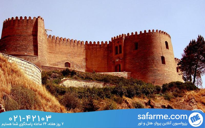 تاریخچه ساخت قلعه فلک الافلاک