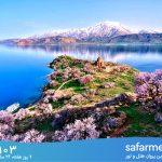 !زیبایی های خیره کننده دریاچه سوان ارمنستان