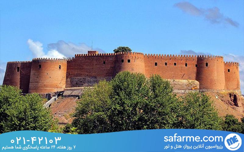 مرمت قلعه فلک الافلاک