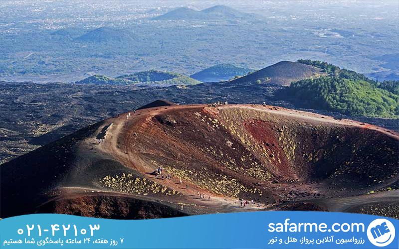کوه اِتنا Mount Etna