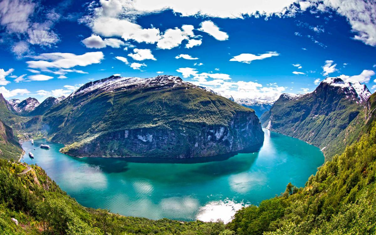 جاذبه های طبیعی نروژ - سفر به نروژ
