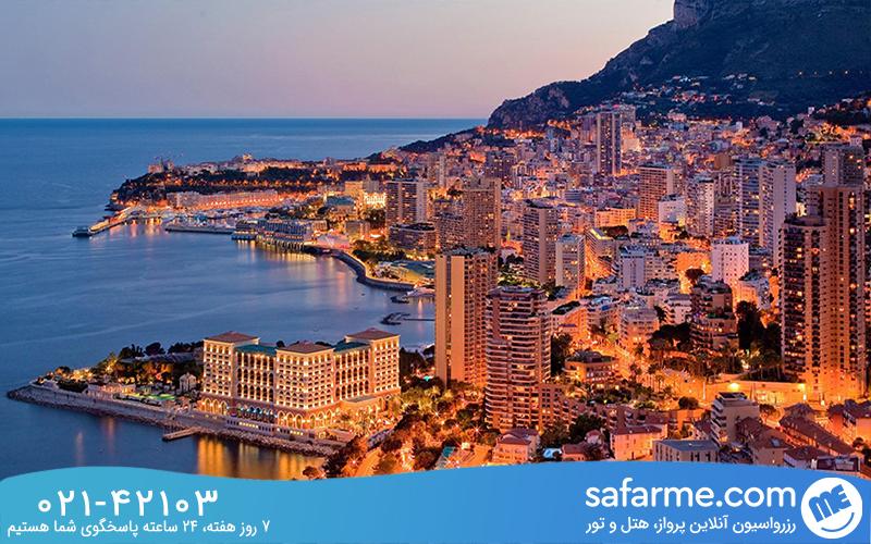 موناکو کشور ثروتمندان جهان