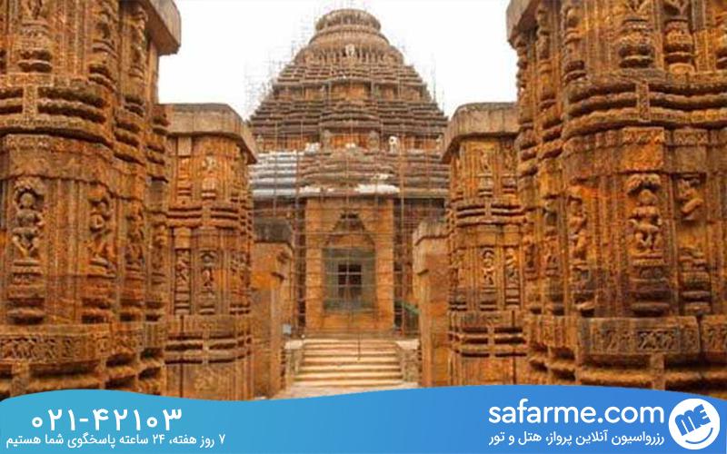 جاذبه های معبد ویروپاکشا هند