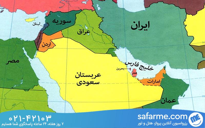 بحرین کجاست؟