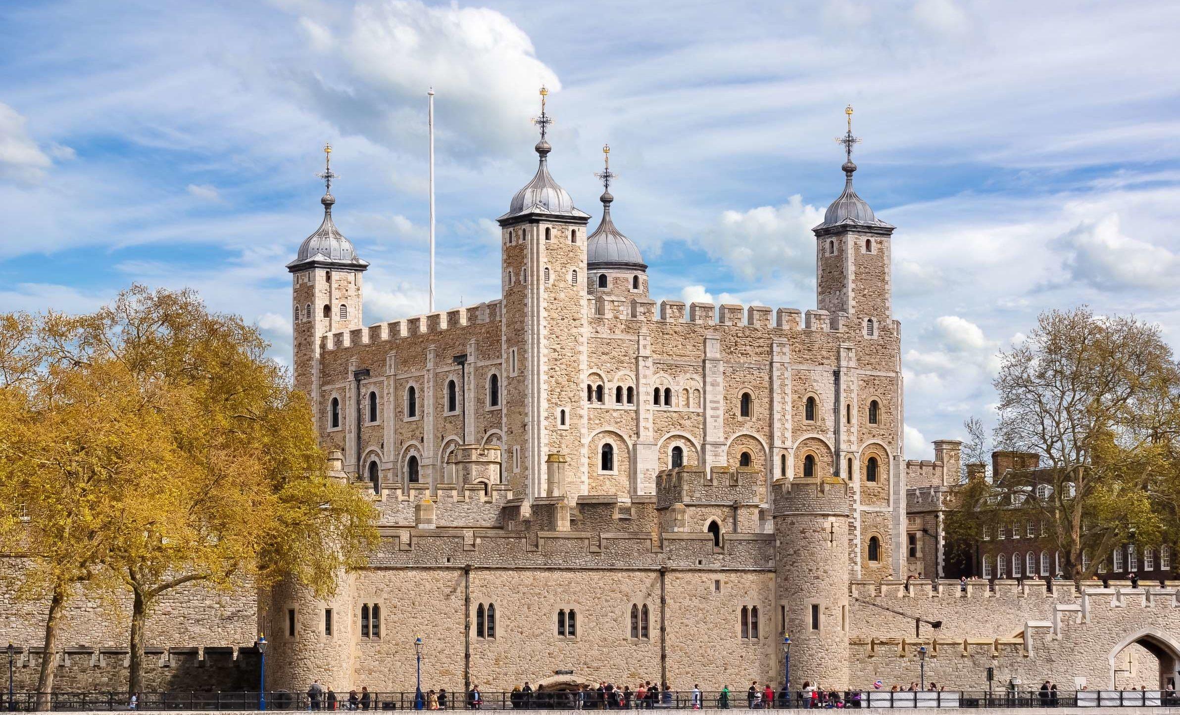 بازدید از برج لندن انگلیس