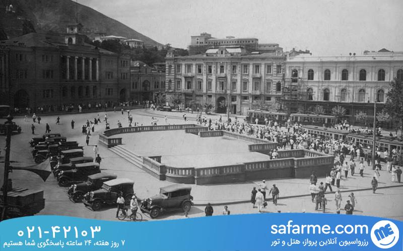 نام قدیمی میدان آزادی تفلیس
