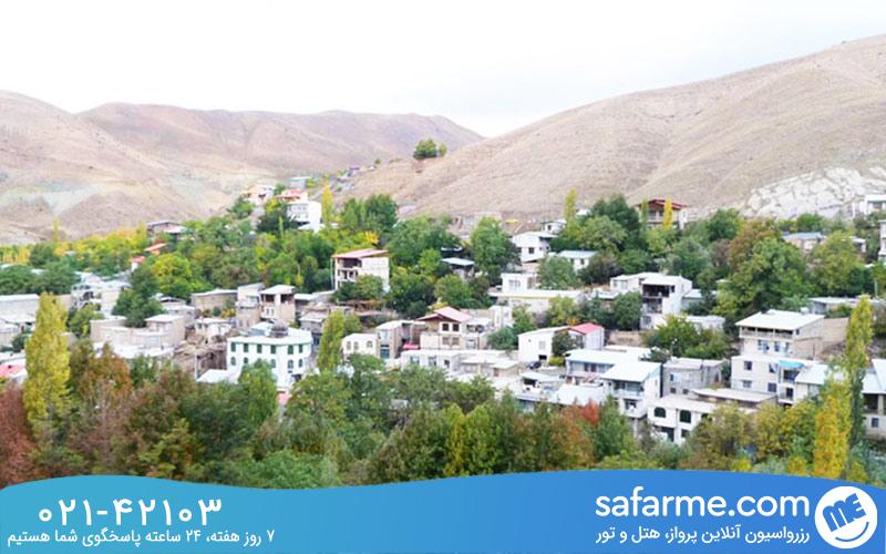 تاریخچه روستای کردان