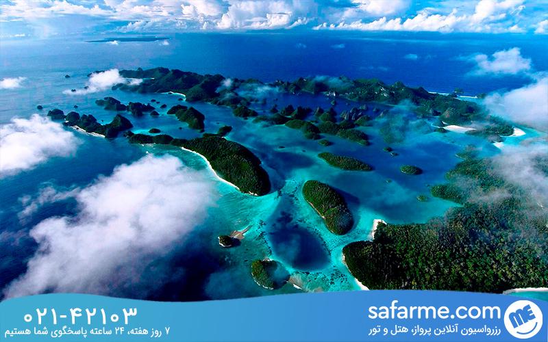 جزیره راجا آمپات کجاست؟