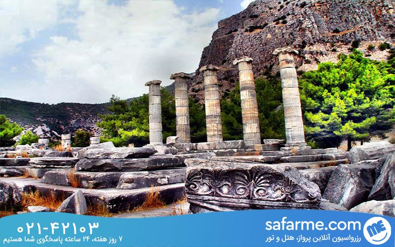شهر باستانی پرینه