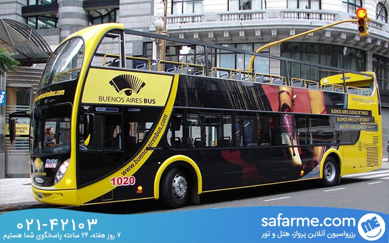 اتوبوس های توریستی