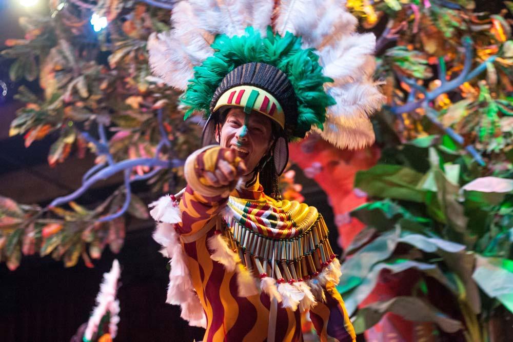 فستیوال آتش بازی رین یا رین در شعله