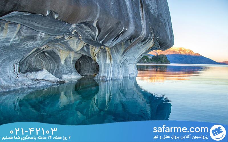 غار مرمر شیلی چرا شگفت انگیز است؟