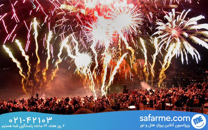 فستیوال آتش بازی راین یا راین در شعله