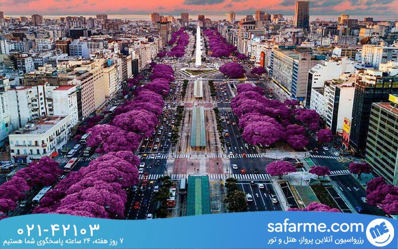 معرفی شهر بوینس آیرس آرژانتین