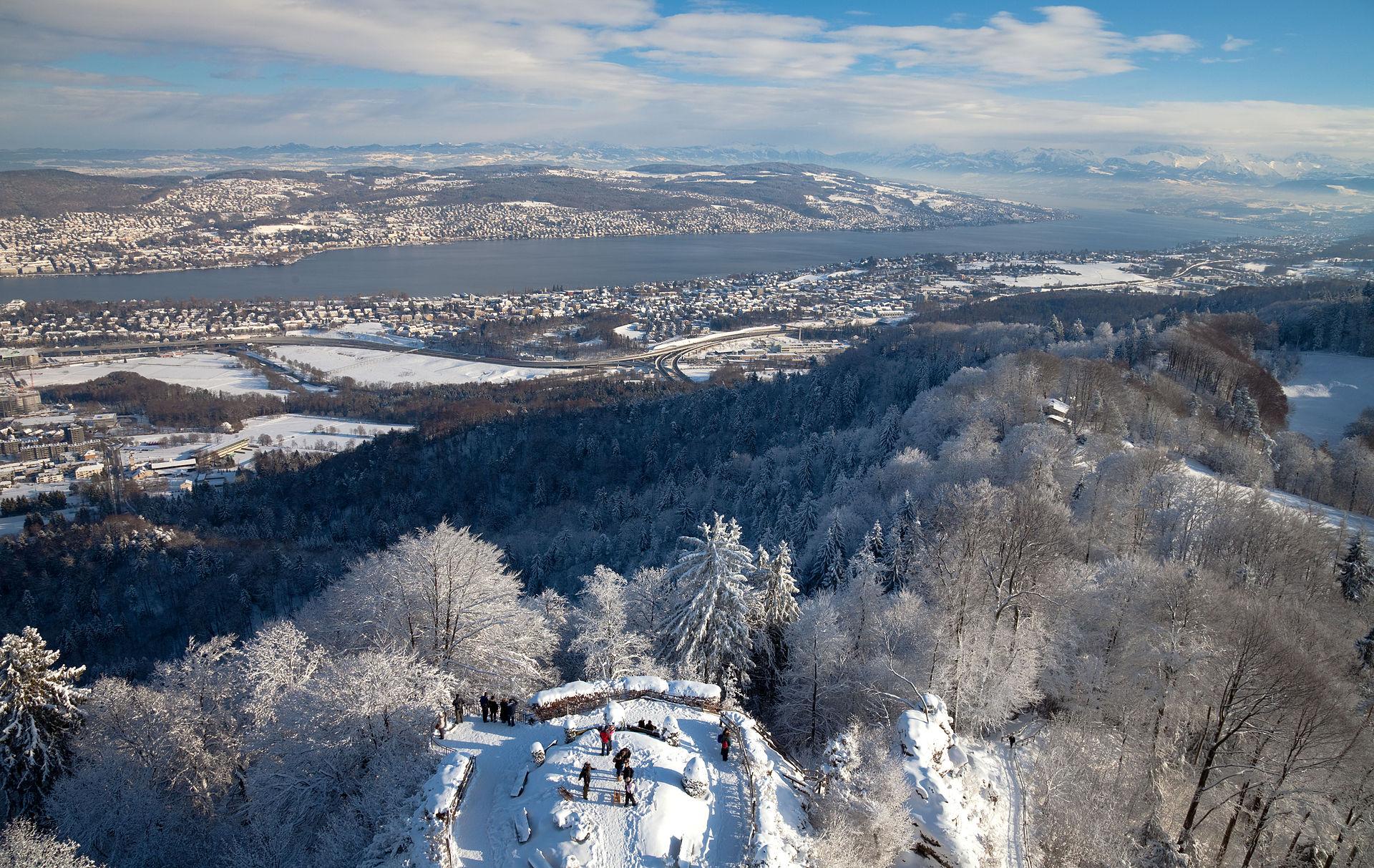 کوه اتیلبرگ ( Uetliberg )