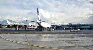 نمایی از فرودگاه مهرآباد